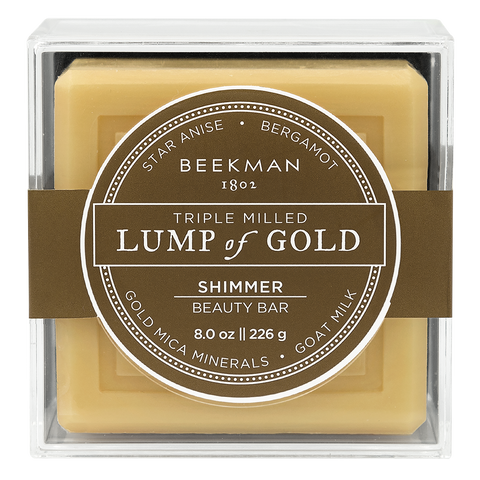 Lump of Gold - Triple Milled Soap from BEEKMAN 1802