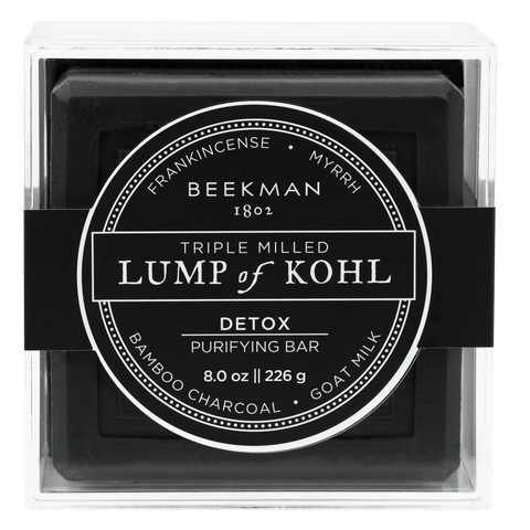 Lump of Kohl - Triple-Milled Soap from BEEKMAN 1802