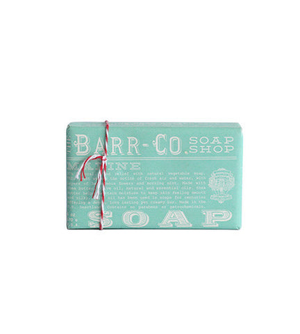 Barr-Co. Soap Shop Marine Shea Butter and Olive Oil Bar Soap