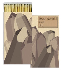 Matches - Mineral Smokey Quartz