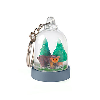 Mini Snow Globe Keychains