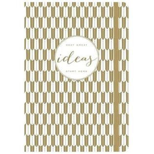 Modern Gold Ideas Gilded Journal by Minhee Cho