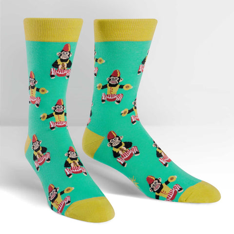 His Monkeying Around Socks