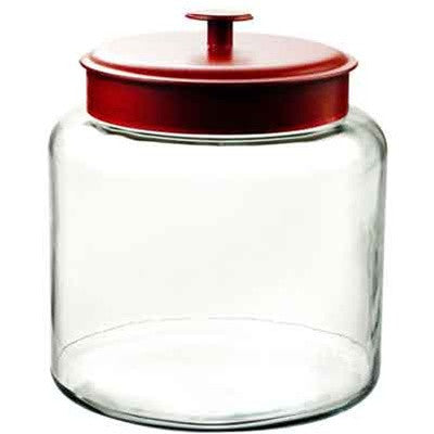 Montana Jar 1.5 Gallon + Red Metal Lid