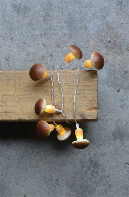 Mushroom Shaped Lights
