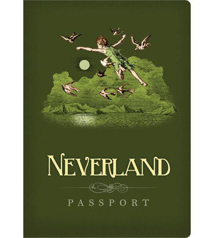 Neverland Passport Notebook