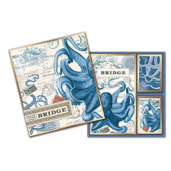 Octopus Bridge Card Set
