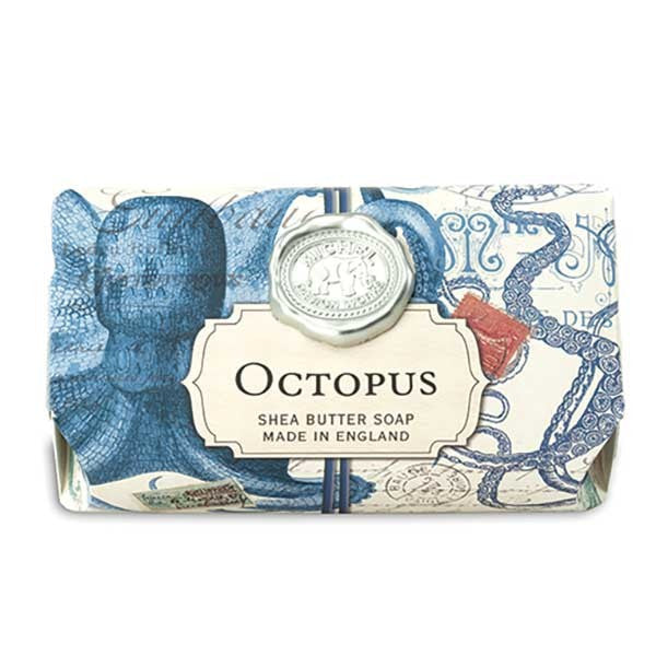 Octopus Large Bath Soap Bar