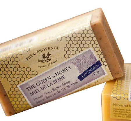 The Queen's Honey Lavender Soap