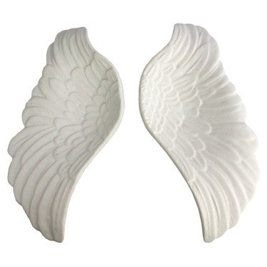 Pair of Ceramic Wings