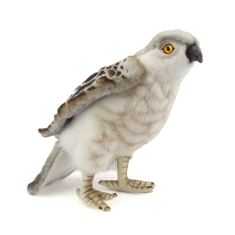 Perched Falcon Stuffed Animal by Hansa