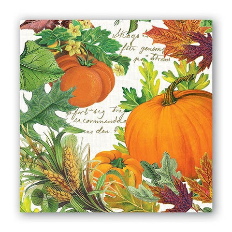Pumpkin Melody Cocktail Napkins