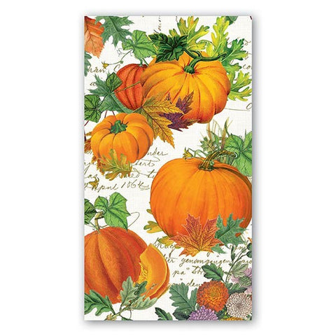 Pumpkin Melody Hostess Napkins