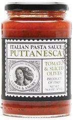 Cucina & Amore Puttanesca Tomato & Sliced Olives Pasta Sauce