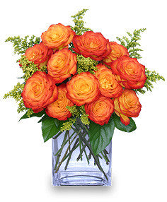 Fiery Love Centerpiece