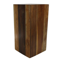 Reclaimed Wood Block - Large