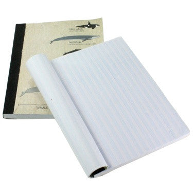 Recycled Paper Journal - Whale