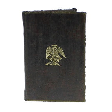 Royal Embossed Journal - Eagle - Brown