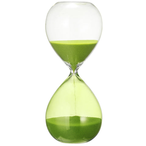 Sand Hourglass, Green + Approx. 30 Min.