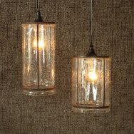 Serge Glass Pendant Light - Tall - Clear