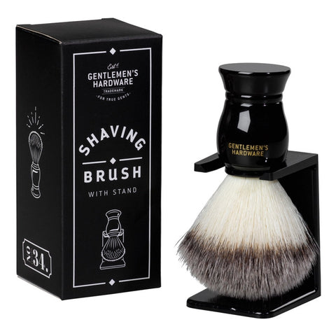 Shaving Brush + Stand