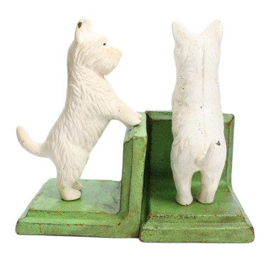 Standing Westie Bookend - Cast Iron