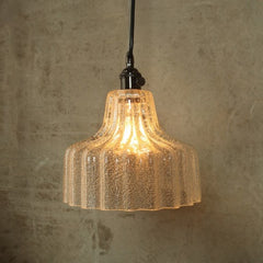 Stina Glass Pendant Light - Medium - Clear