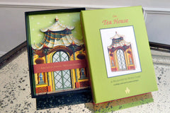 Tea House Silhouette Note Cards