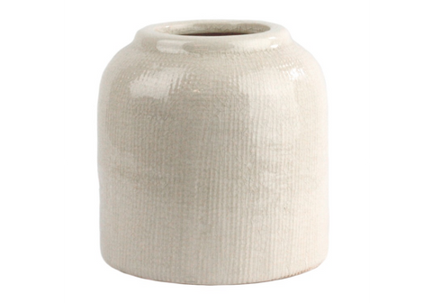 Ting Ceramic Pot - Large - White