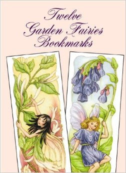 Twelve Garden Fairies Bookmarks by Darcy May