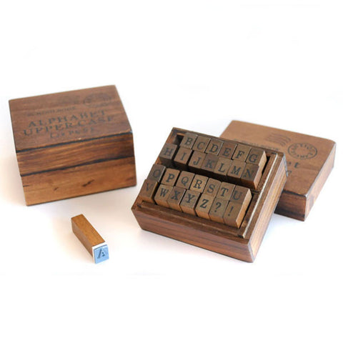 Uppercase Alphabets Stamp Set