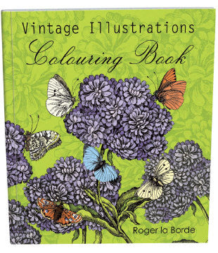 Vintage Illustrations Coloring Book