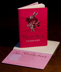 Wonderland Passport Notebook