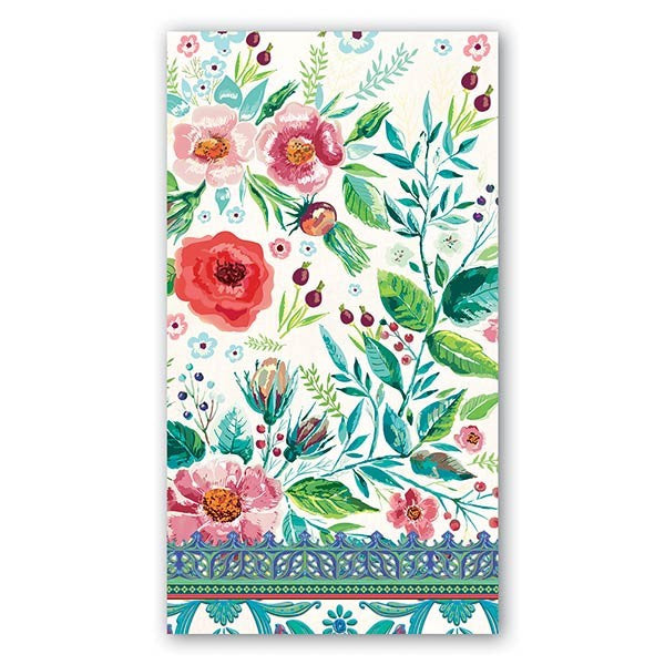 Wild Berry Blossom Hostess Napkins