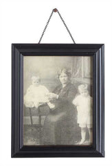 Aged Wood Photo Frame + 2 Sizes