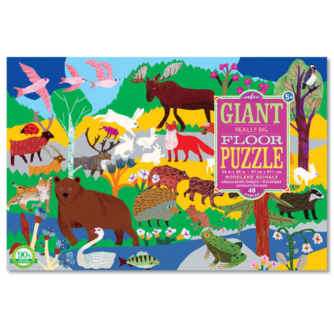 Woodland Animals Giant Puzzle