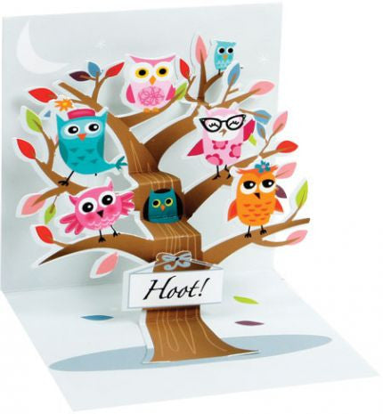 Hoot Owl Pop-Up Card
