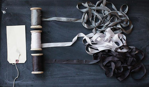 Silk Ribbon on Spool