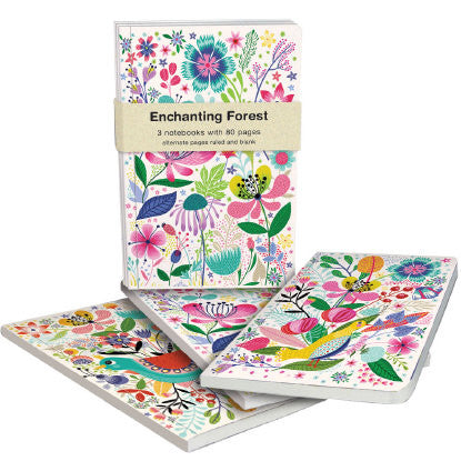 Enchanting Forest Exercise Books Bundle by Helen Dardik