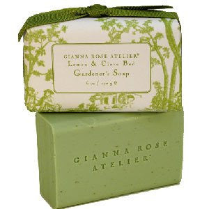 Gardener's Lemon, Clove, Oatmeal Soap