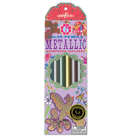 Metallic Jumbo Color Pencils