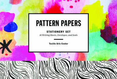 Stationery Pattern Papers from Textile Arts Centre