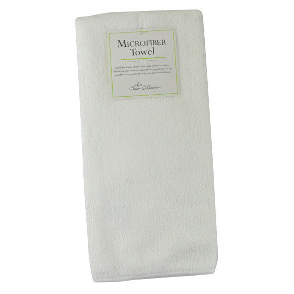 White Terry microfiber Dishtowel