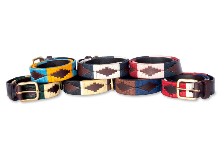 The Patriot Leather Belt - Gaucho Goods