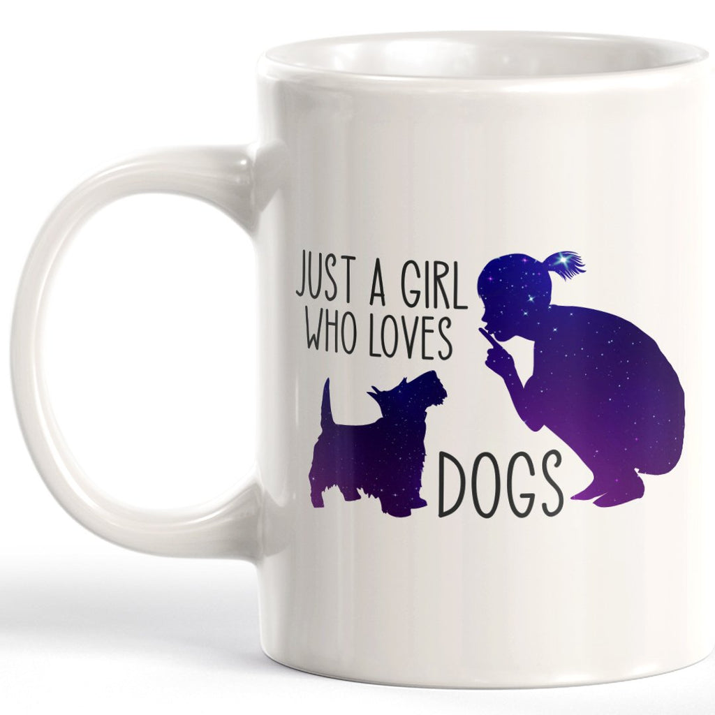 Just A Girl Who Loves Dogs Coffee Mug