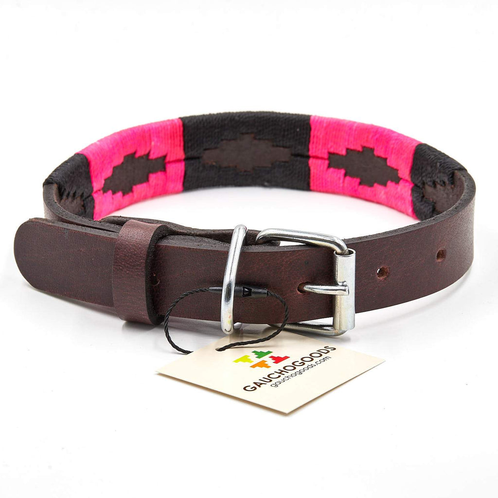 Gaucho Goods Leather Dog Collar - Antilles