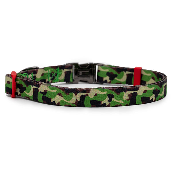 Nylon Dog Collar - Camo