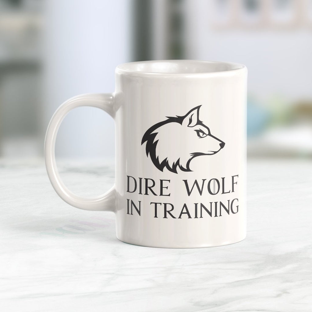 Dire Wolf In Training Coffee Mug