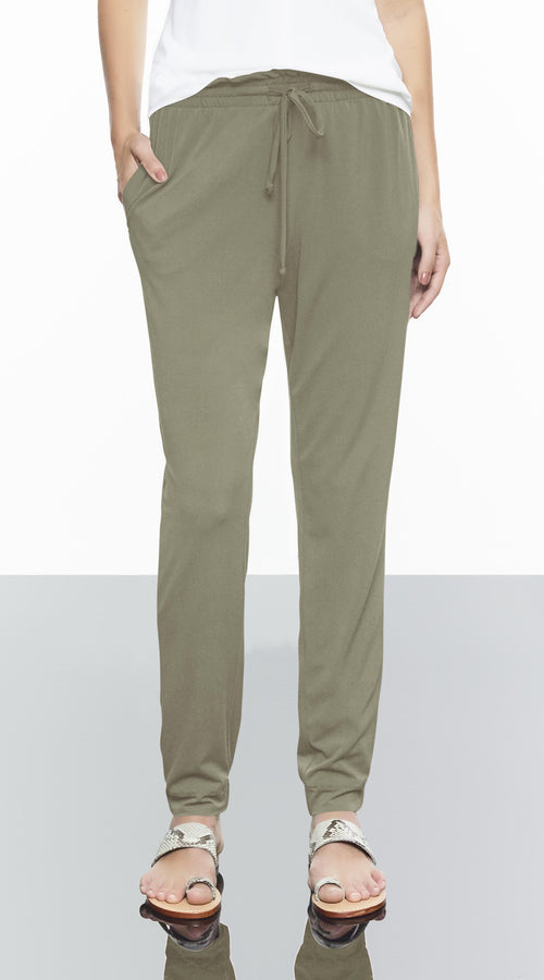 Rouched Draw String Pant