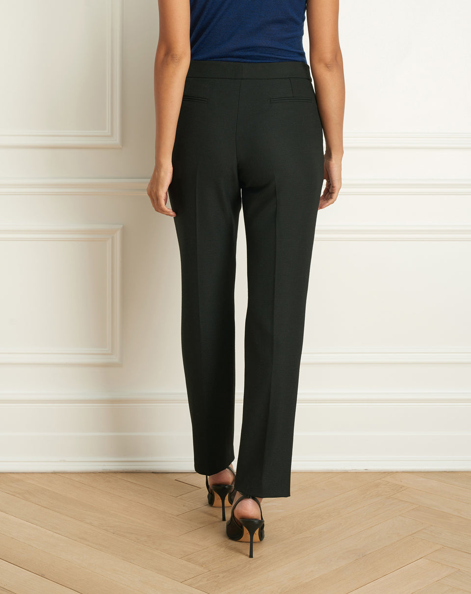 2 Tone Stretch Cigarette Pant
